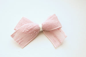 Beautiful Boucle Slub Ribbon Bows