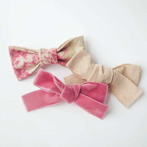 Fleur. A Trio of Beautiful Bows