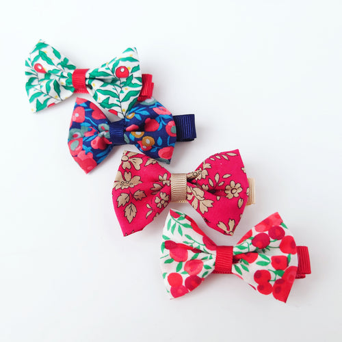 Limited Edition Liberty Christmas Print Mini Bows