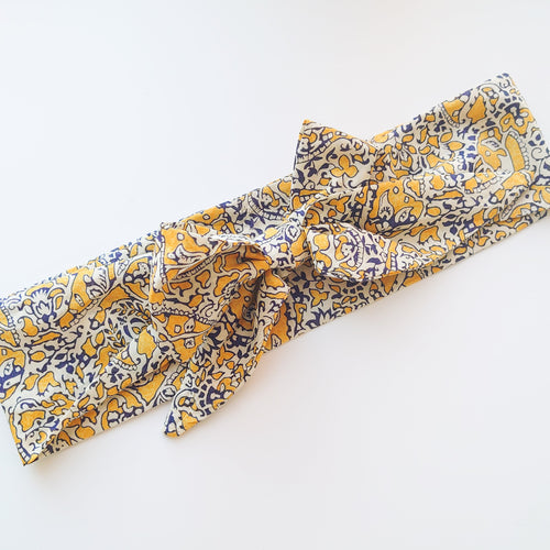 Mummy Hair Scarf  Bow (available in a range of fabrics)