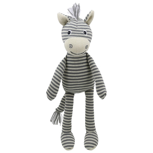 Knitted Zebra by Wilberry
