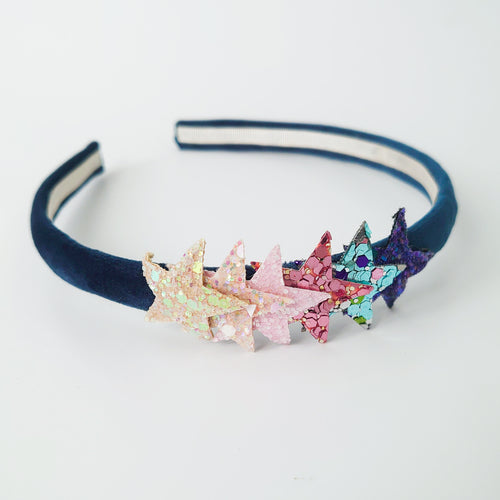 Sparkly Star Alice Band