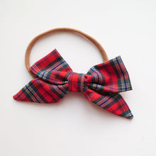 Load image into Gallery viewer, Classic Tartan Bows