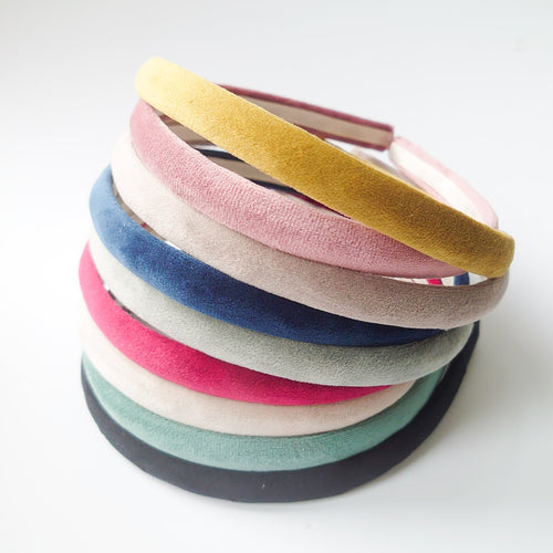 Super Soft Velvet Alice Bands