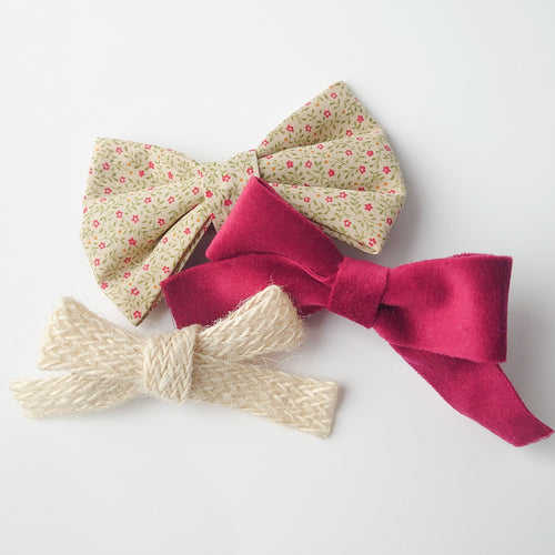 Apple. A Trio of Elegant Bows