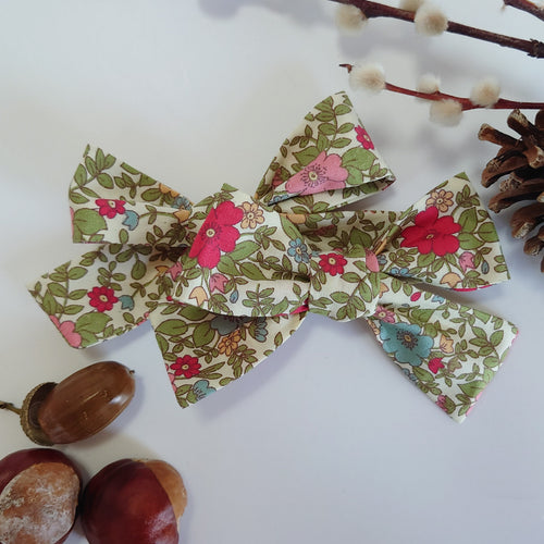 New Autumn Floral Bow