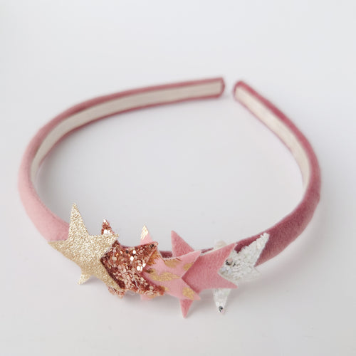 Rose Gold Star Headband