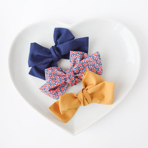 Gorgeous Liberty Trio of Bows