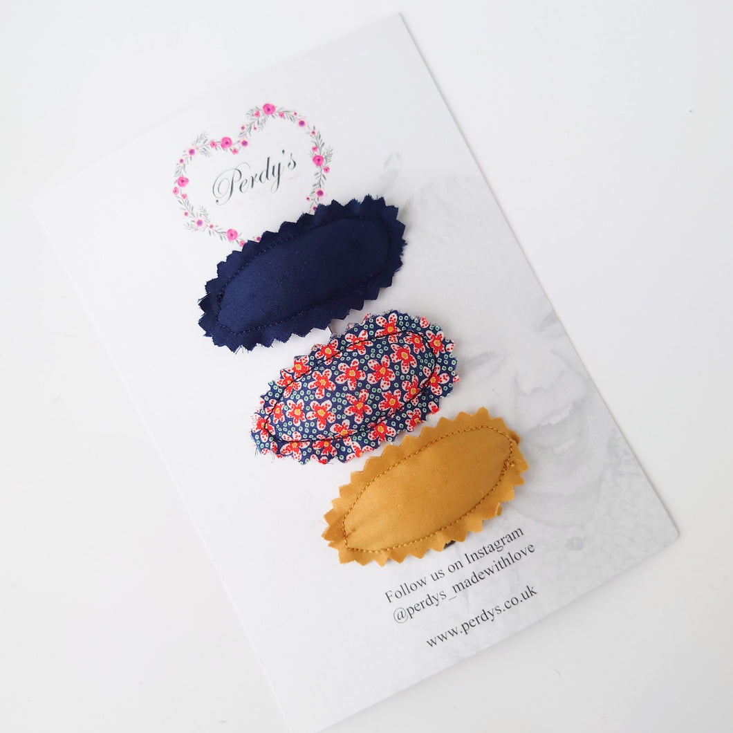 Gorgeous Liberty Padded Snap Clip Collection