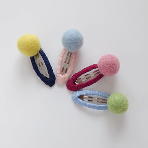 Brightly Bold Ball Snap Clips