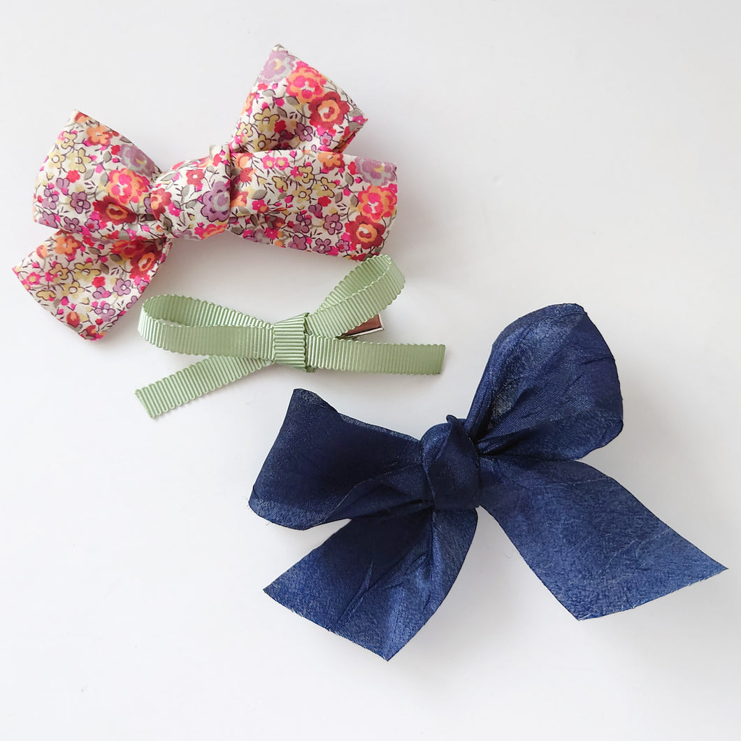 Spring garden trio of bows