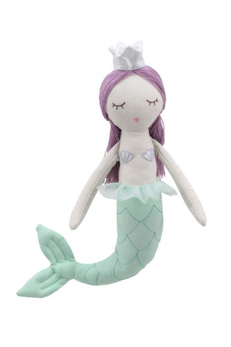 Mermaid with Purple Hair by Wilberry