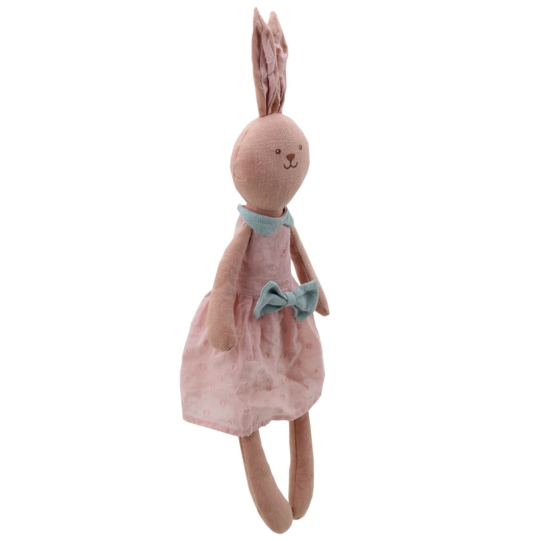 Pink Rabbit by Wilberry