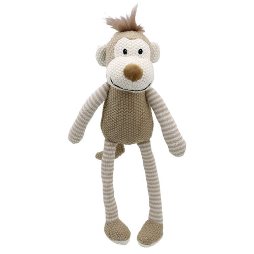 Knitted Monkey by Wilberry