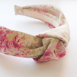 Mummy Linen Knotted Headbands
