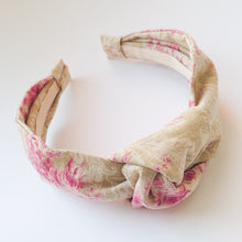 Load image into Gallery viewer, Mummy Linen Knotted Headbands