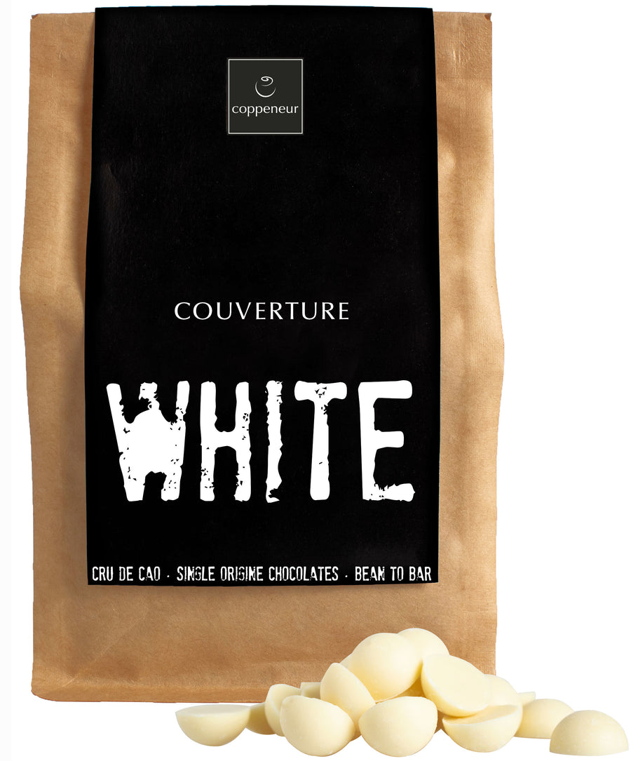 Coppeneur White Chocolate Couverture