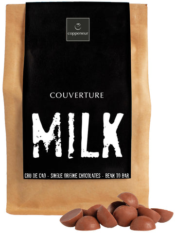 Coppeneur 38% Milk Chocolate Couverture