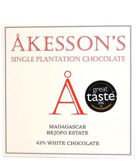 Akesson's Madagascar 45% White Chocolate (Organic) - Chocolate Collective Canada