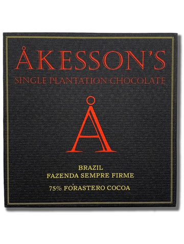 Akesson's Brazil 75% Dark Chocolate - Chocolate Collective Canada