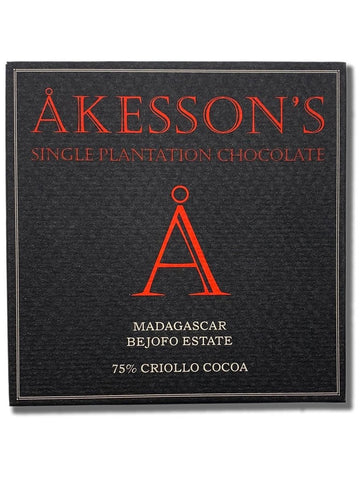 Akesson's Madagascar 75% Dark Chocolate (Organic) - Chocolate Collective Canada
