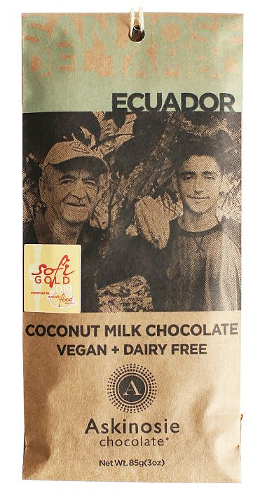 (COMING SOON!) Askinosie Ecuador 52% Coconut Milk Chocolate (Vegan) - Chocolate Collective Canada