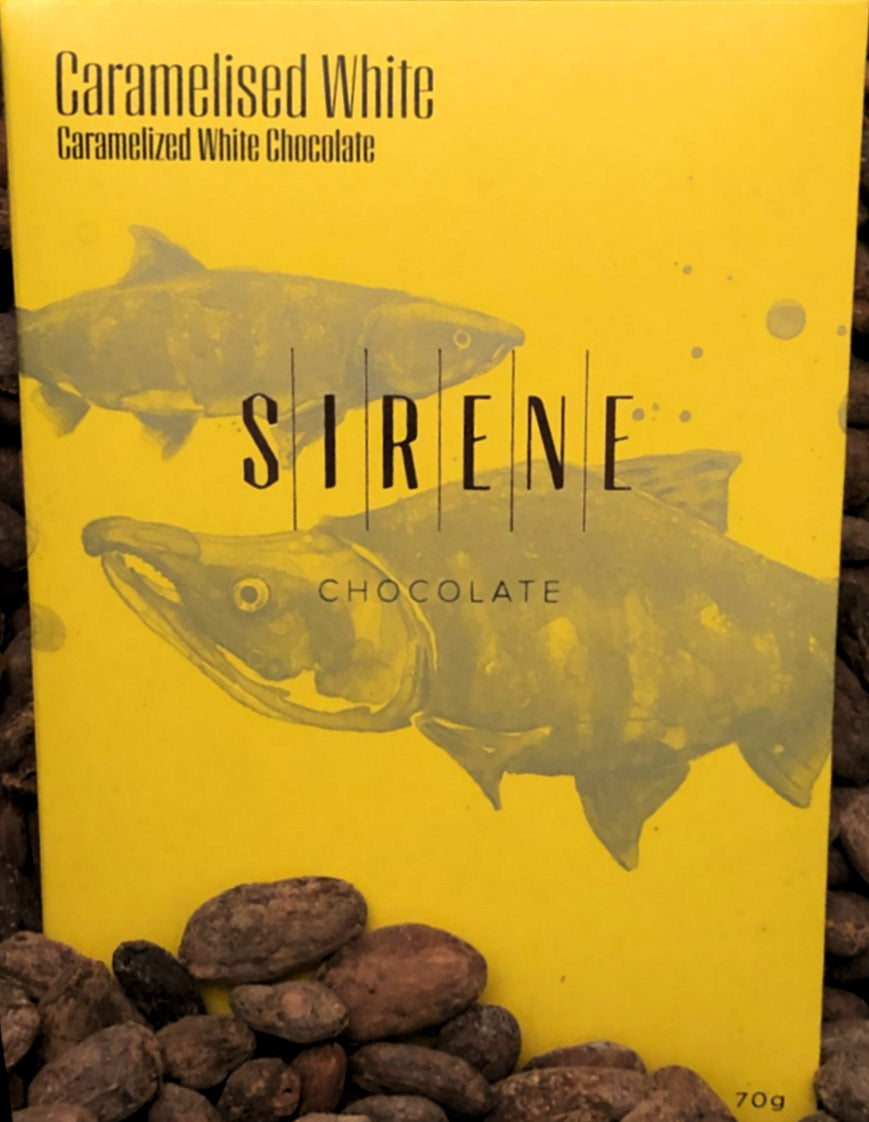 Sirene Caramelized White Chocolate - Chocolate Collective Canada