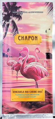 Chapon Venezuela 100% Dark Chocolate - Chocolate Collective Canada