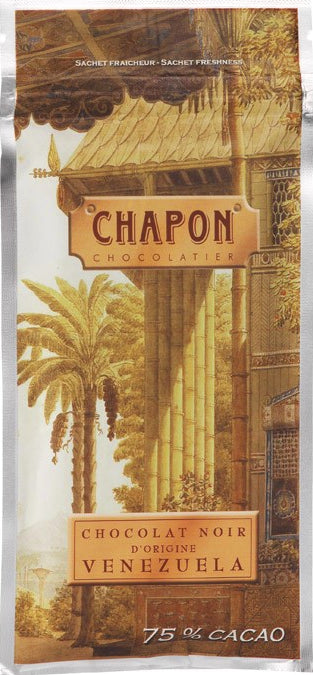 Chapon Venezuela 75% Dark Chocolate - Chocolate Collective Canada