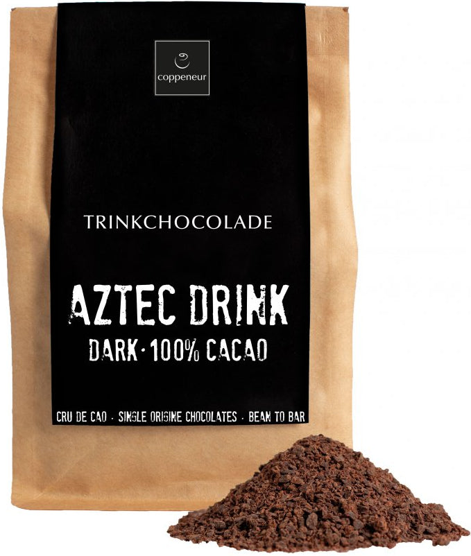 Coppeneur 100% Dark Drinking Chocolate (Organic)