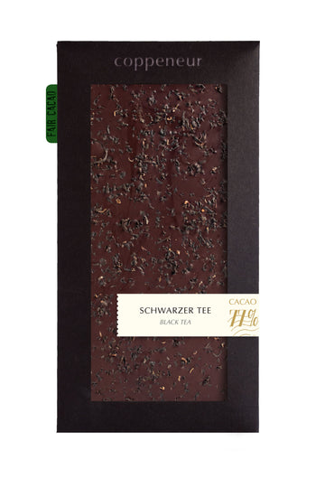 Coppeneur Ghana 77% Dark Chocolate with black tea