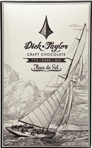 Dick Taylor 73% Dark Chocolate with sea salt - Chocolate Collective Canada