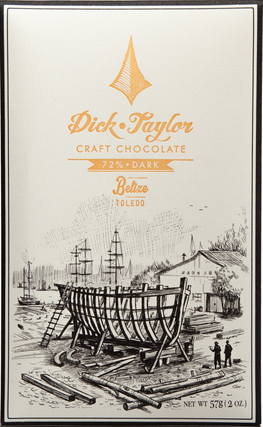 Dick Taylor Belize 72% Dark Chocolate (Organic) - Chocolate Collective Canada