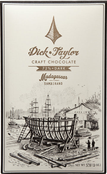 Dick Taylor Madagascar 72% Dark Chocolate (Organic) - Chocolate Collective Canada