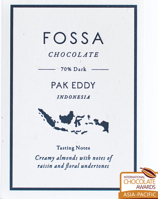 Fossa, Pak Eddy Indonesia 70% Dark Chocolate