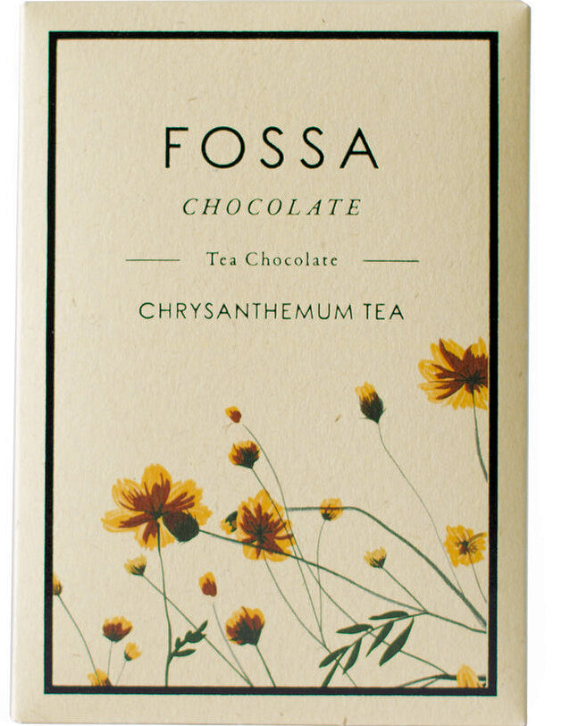 Fossa Dark Milk Chocolate with chrysanthemum tea