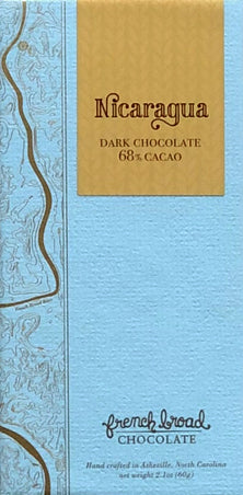 French Broad Nicaragua 68% Dark Chocolate - Chocolate Collective Canada