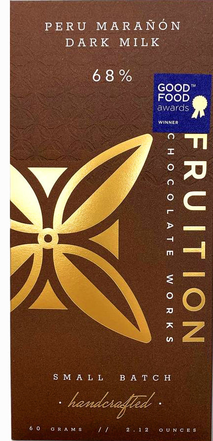 Fruition Peru Maranon 68% Milk Chocolate
