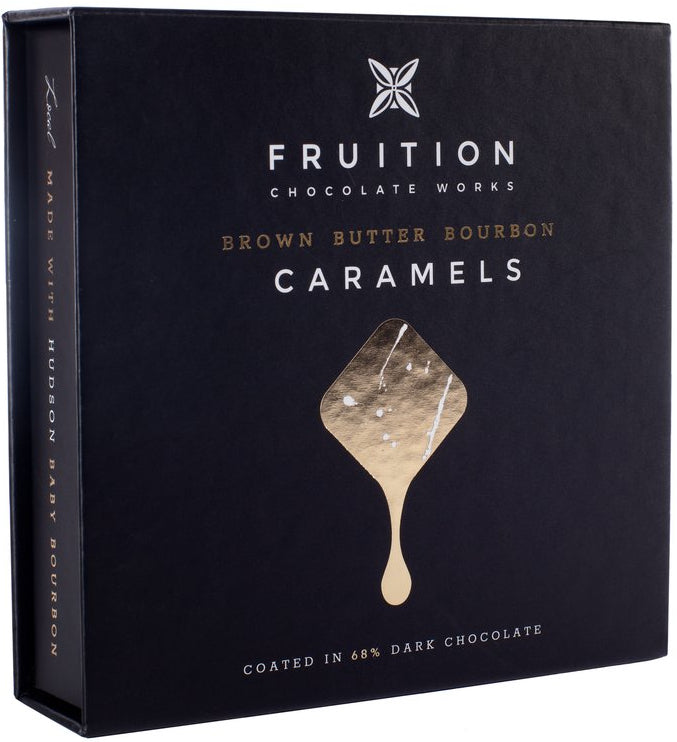 Fruition Brown Butter Bourbon Caramels - Chocolate Collective Canada