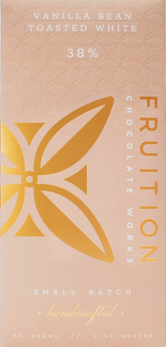 Fruition 38% Toasted White Chocolate with vanilla bean