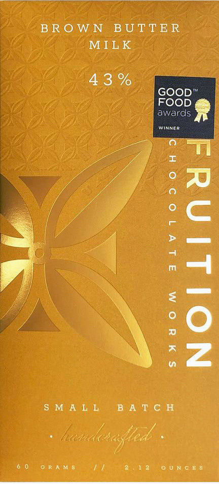 Fruition 43% Milk Chocolate with brown butter - Chocolate Collective Canada