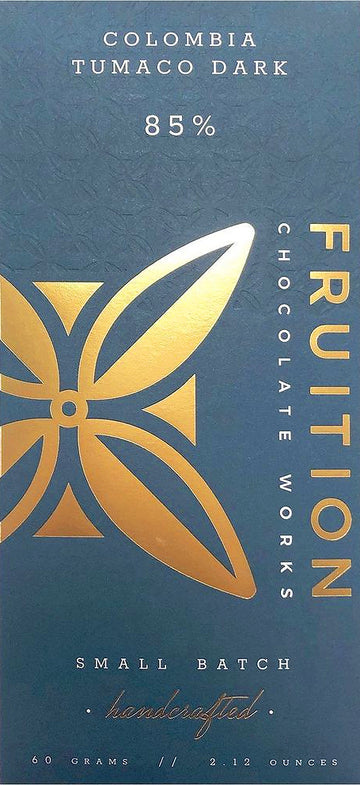Fruition Columbia Tumaco 85% Dark Chocolate - Chocolate Collective Canada