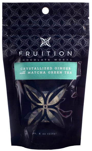 Fruition Crystallized Ginger with matcha green tea - Chocolate Collective Canada