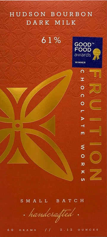 Fruition 61% Milk Chocolate with Bourbon - Chocolate Collective Canada