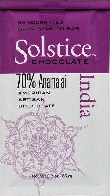 Solstice India 70% Dark Chocolate - Chocolate Collective Canada