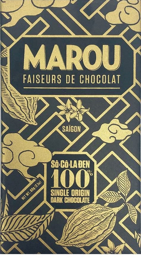 Marou 100% Dark Chocolate - Chocolate Collective Canada