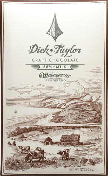 Dick Taylor Madagascar 58% Milk Chocolate (Organic) - Chocolate Collective Canada