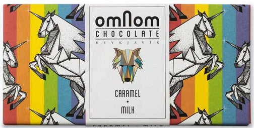 Omnom 50% Milk Chocolate with caramel - Chocolate Collective Canada
