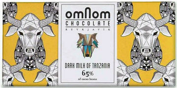 Omnom Tanzania 65% Dark Milk Chocolate - Chocolate Collective Canada