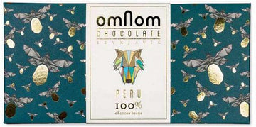 Omnom Peru 100% Dark Chocolate (Organic) - Chocolate Collective Canada
